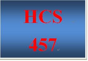 HCS 457 Week 5 Conversation Starte