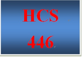HCS 446 Week 4 Individual Assignment Facility Planning – Part III
