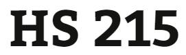 HS 215 Week 5 Goals, Focus, and Success Plan