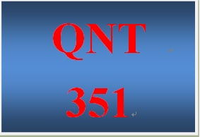 QNT 351 Week 2 participation Statistical Techniques in Business & Economics, Ch. 6
