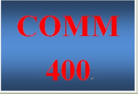 COMM 400 Week 5 EEOC Seminar