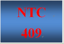 NTC 409 Week 2 Team Acme Medical Center WAN Project Part I