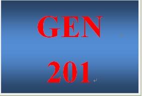 GEN 201 Week 1 Preparing for Academic Success