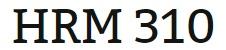 HRM 310 Week 1 Minute Paper
