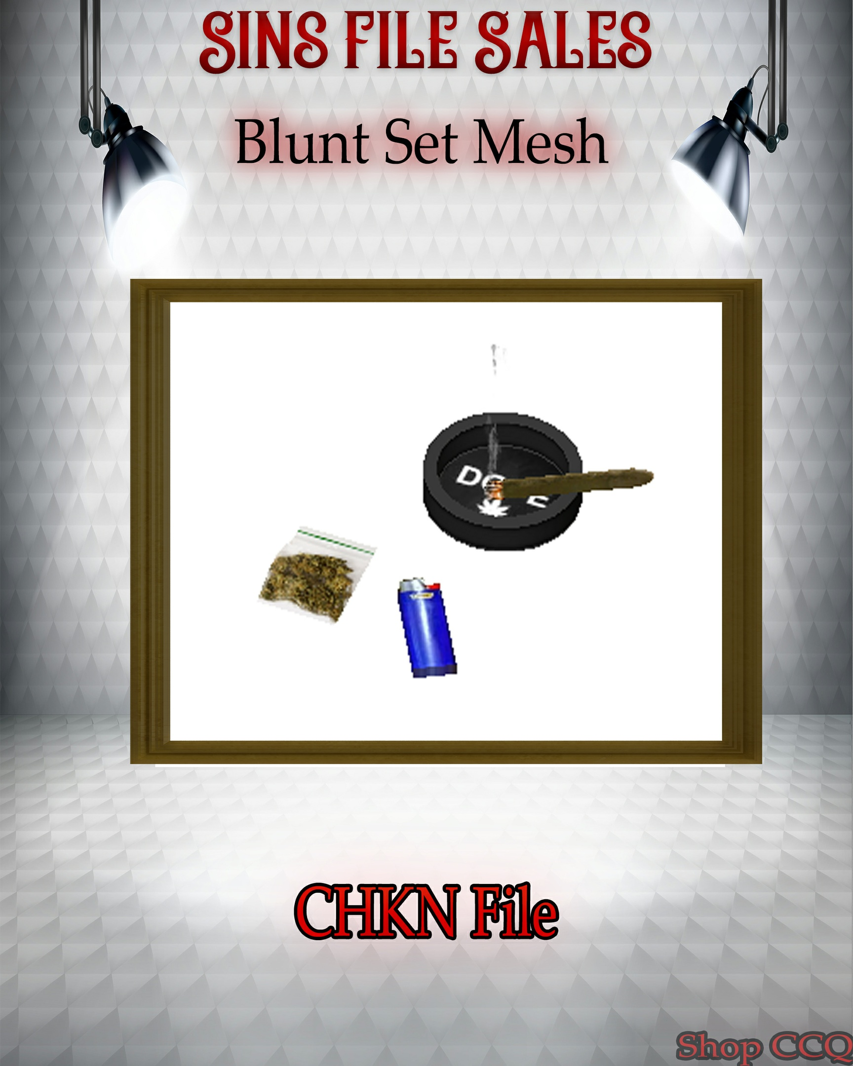 •Blunt, Ashtray Set Mesh•