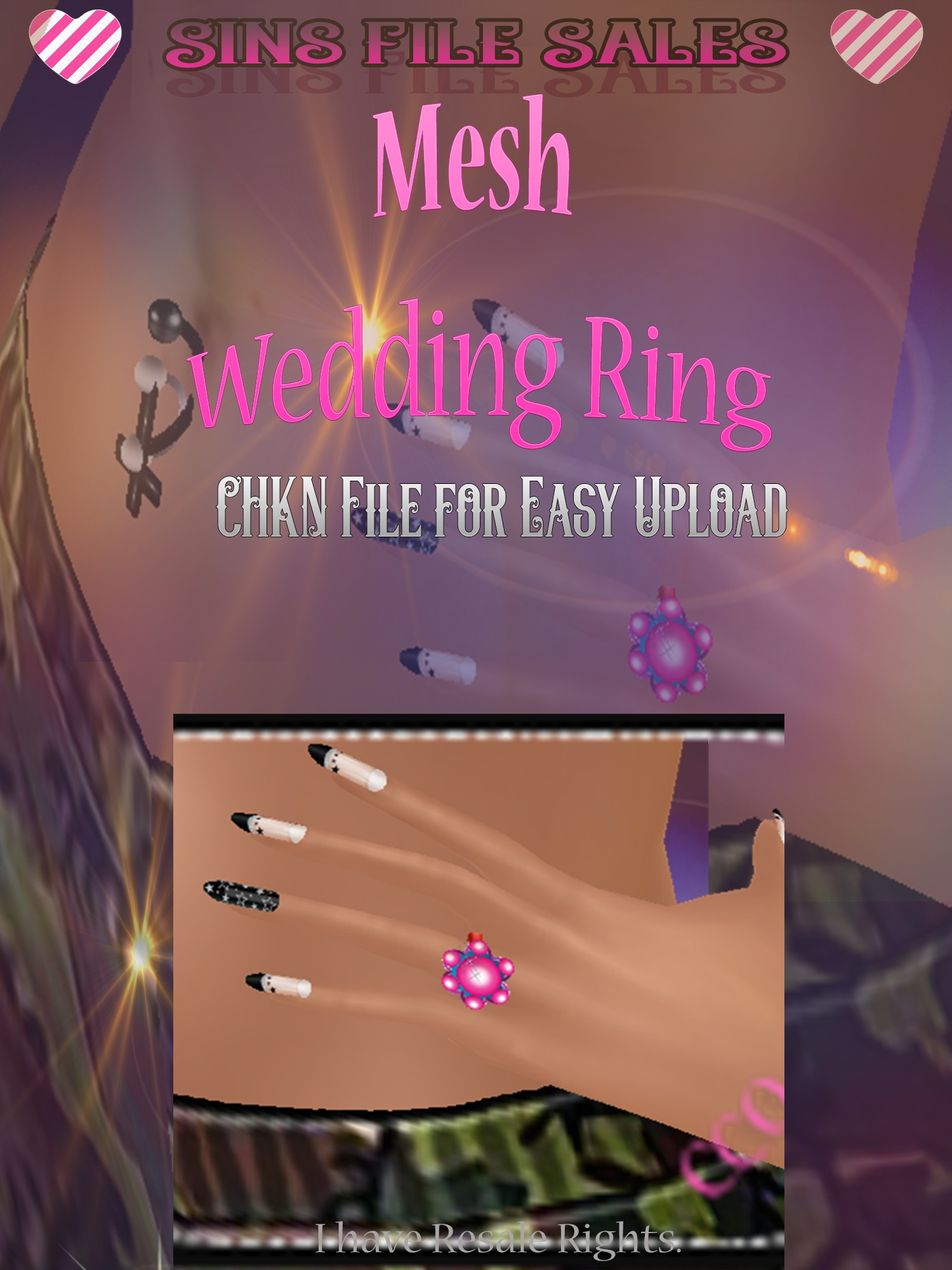 Wedding Ring Mesh *CHKN File