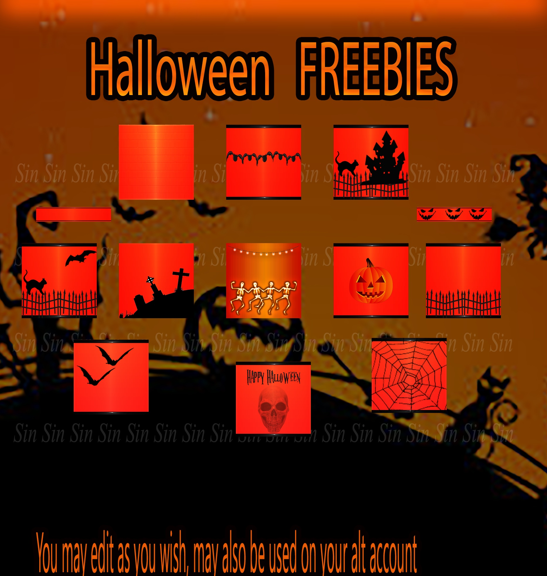 Halloween FREEBIE Textures