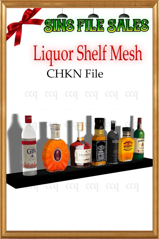 Liquor Shelf Mesh