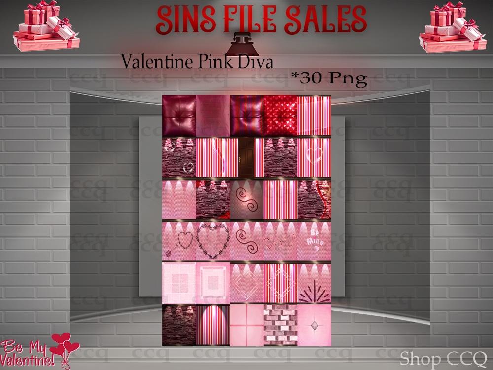 ♥Valentines Pink Diva Texture Pack