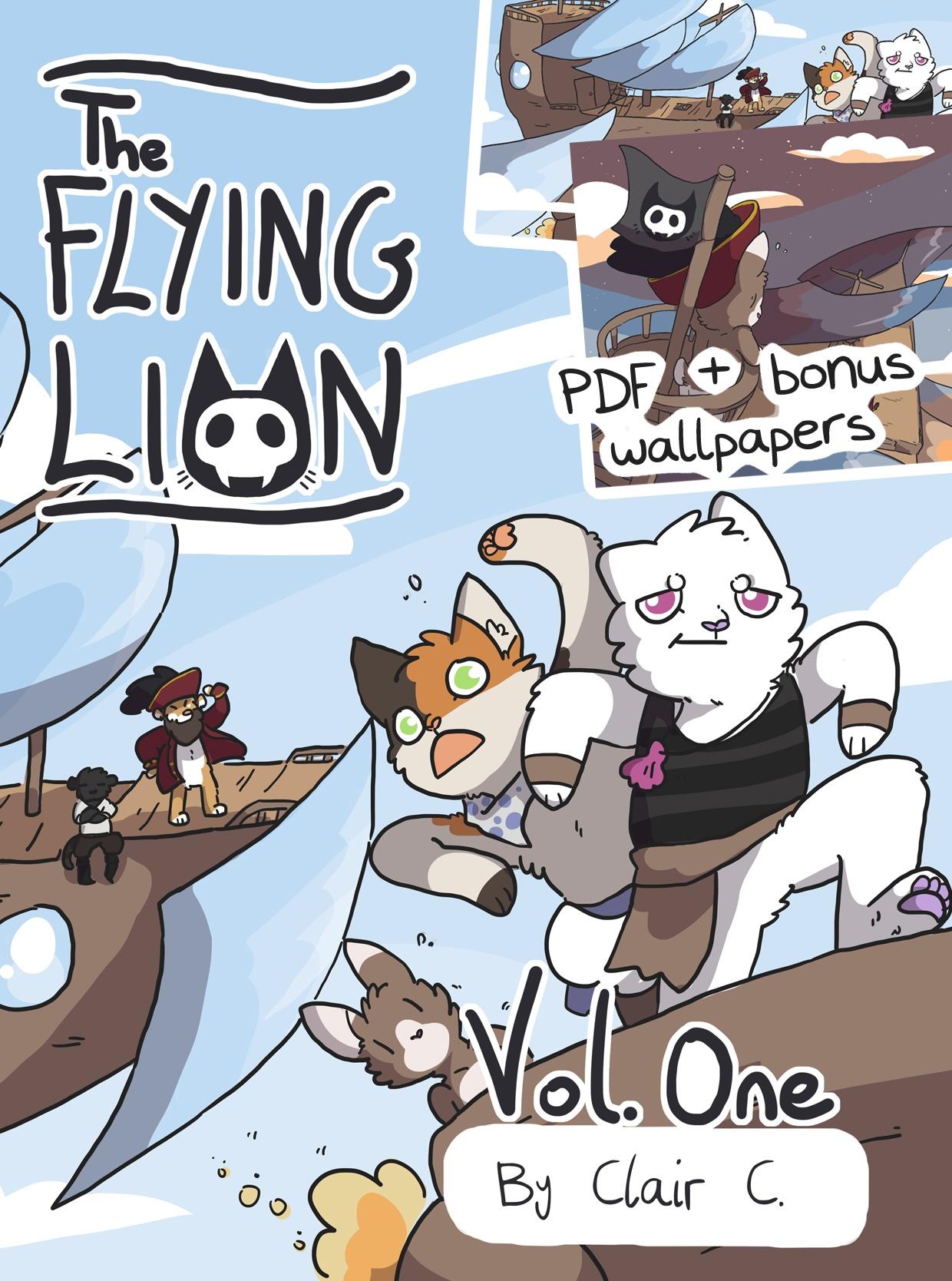 The Flying Lion Vol.1 PDF & Wallpaper Bundle