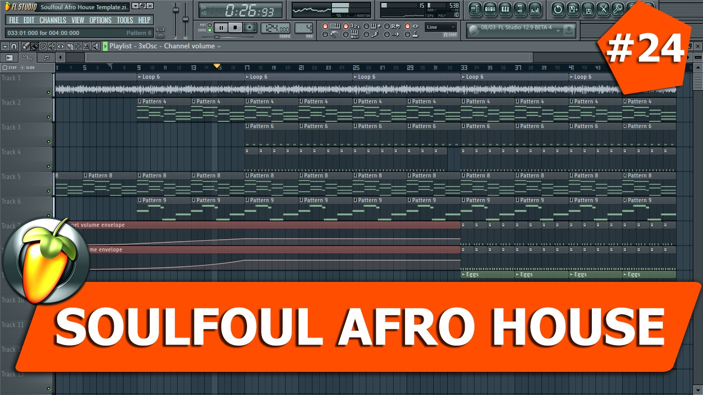 Soulfoul Afro House Template #24 FLP