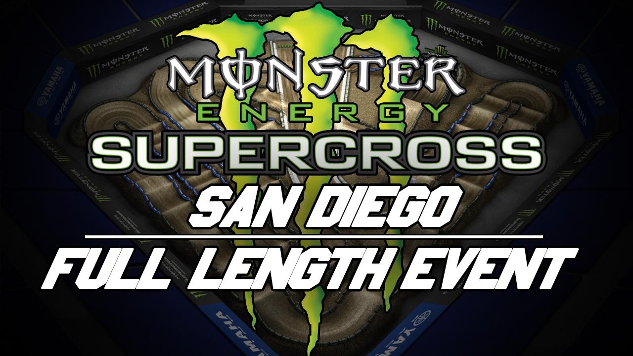 2018 Monster Energy Supercross Round 6 San Diego 720p HD