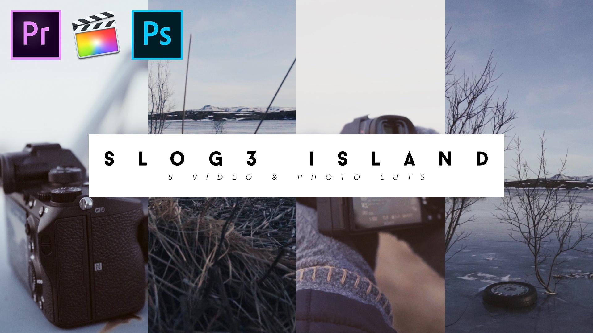 5 LUTS - SLOG 3 ISLAND LUT PACK