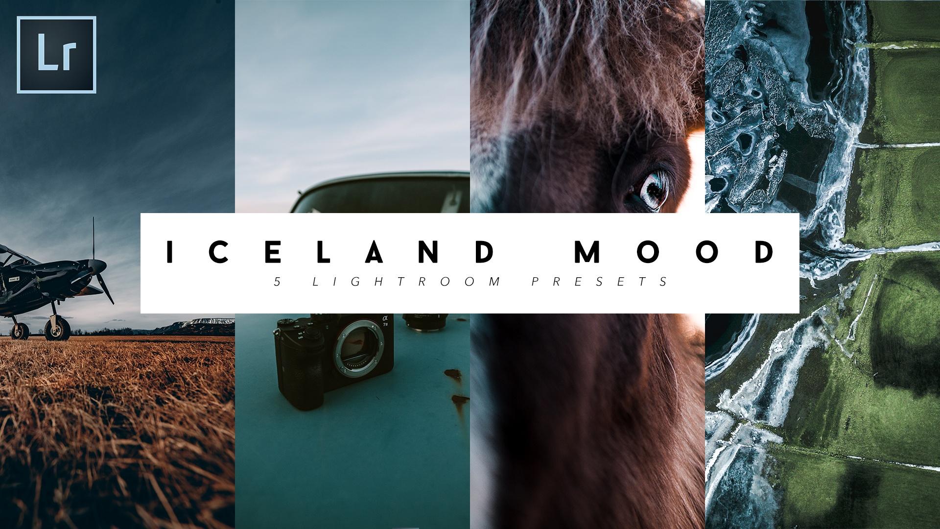5 PRESETS - ICELAND MOOD (Lightroom Presets) / Jonah Plank