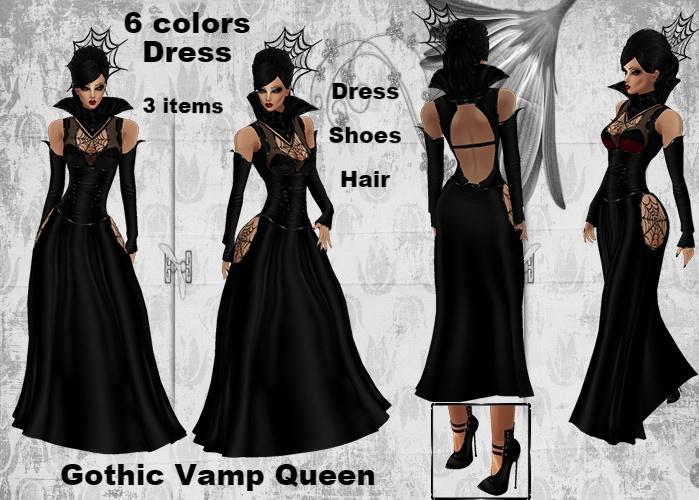 Gothic Vamp Queen Bundle