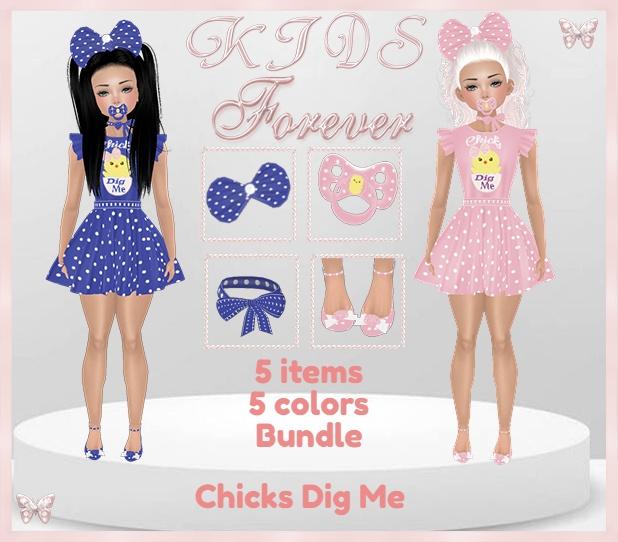 KIDS - 3 Chick Dig Me Bundle