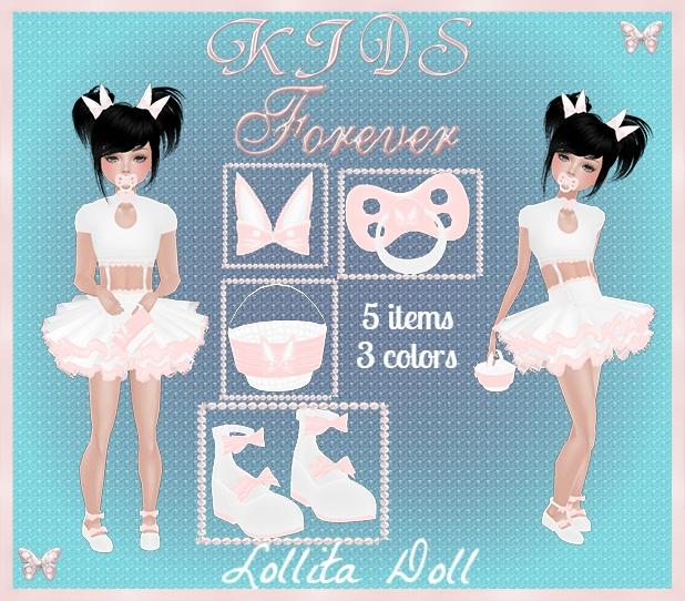 Kids - 6 Lollita Doll Bundle