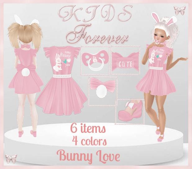 KIDS - 4 Bunny Love Bundle