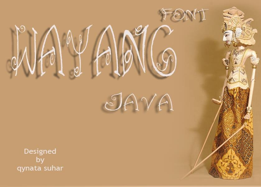 Wayang Typeface