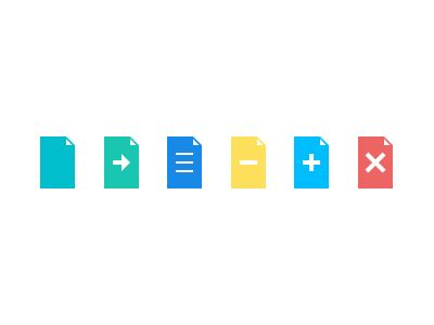 Document - Flat Icons