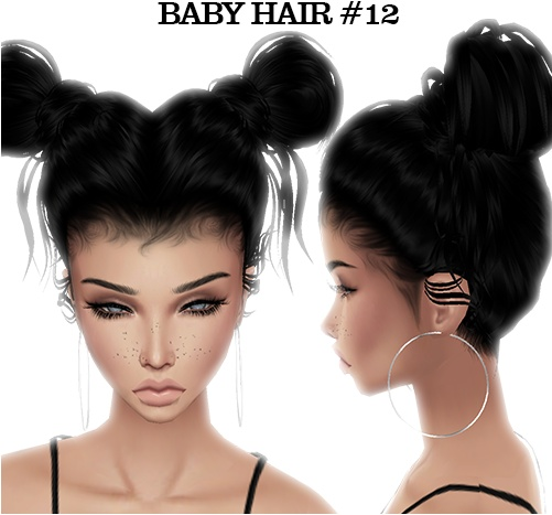 Baby Hair Pack 3 (Read product description) $50 with mesh!