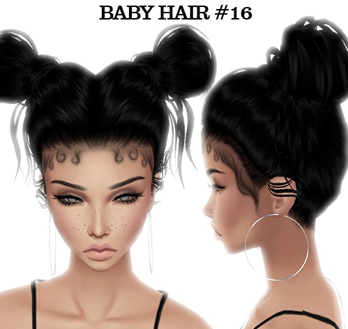 Baby Hair Pack 4 (Read product description) $50 with mesh!