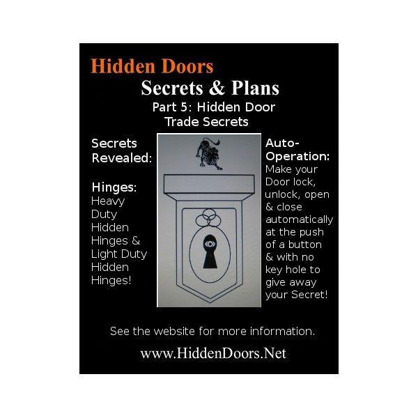 Hidden Doors Manual Part 5. The Hidden Door Trade Secrets