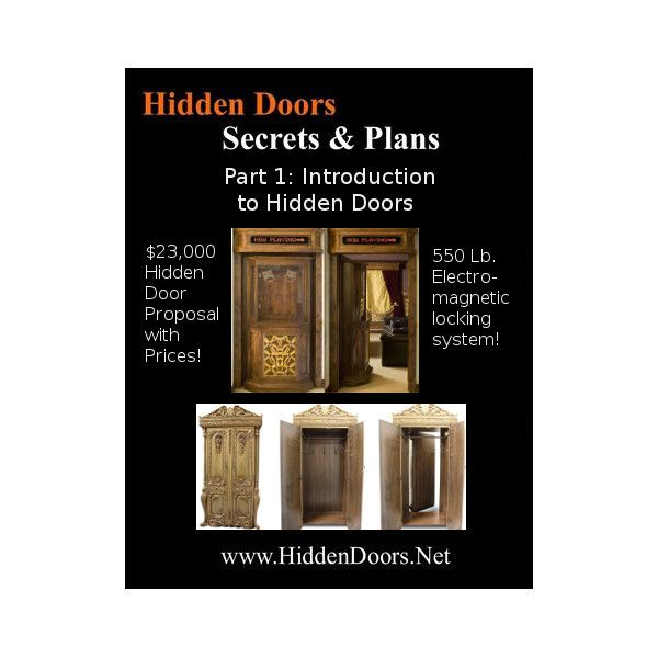 Hidden Doors Manual Part 1. Hidden Doors Intro with the $23,000 Box Office Hidden Door Proposal