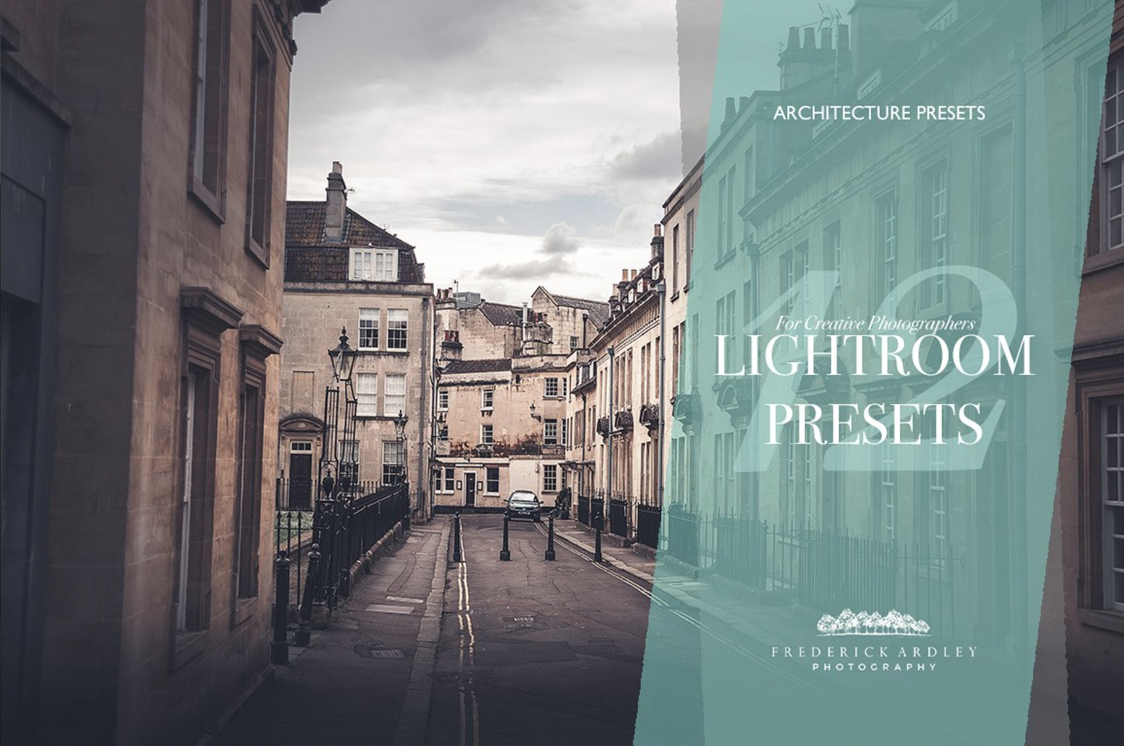 12 Lightroom Presets: Architecture