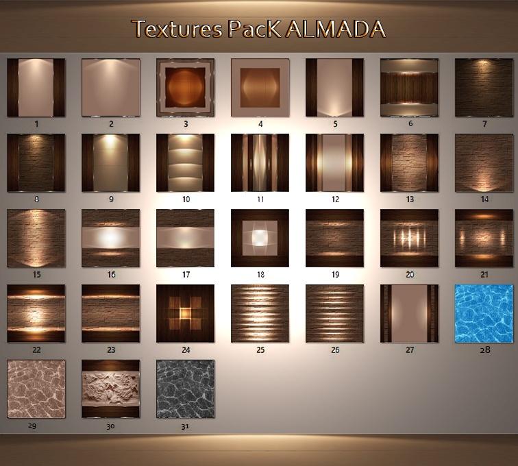 30_Textures Pack Almada