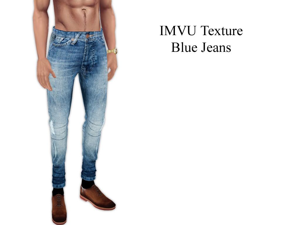 IMVU Texture - Blue Jeans (Male)