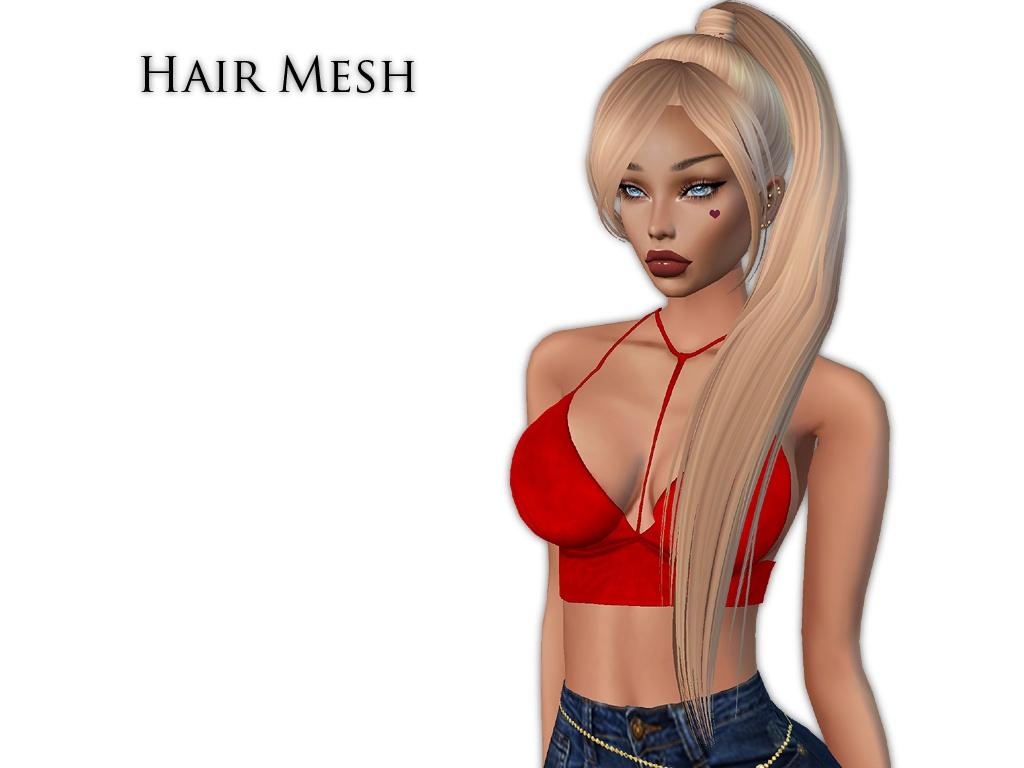 IMVU Mesh - Hair - Fiona