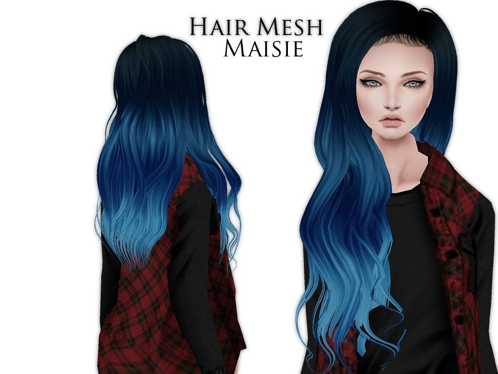 IMVU Mesh - Hair - Maisie
