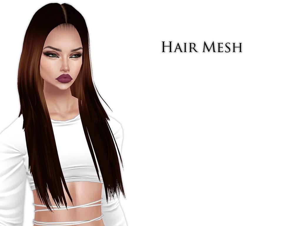 IMVU Mesh - Hair - Dahlia