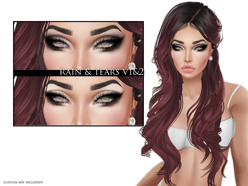IMVU Texture - Skins by Lee - Make-up Rain & Tears