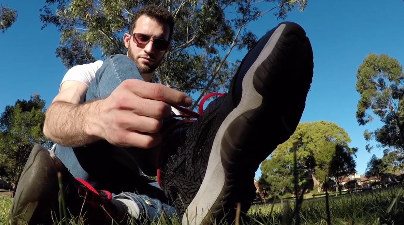 Damon Misc Feet