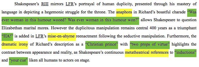 richard iii irony of shakespeare essay