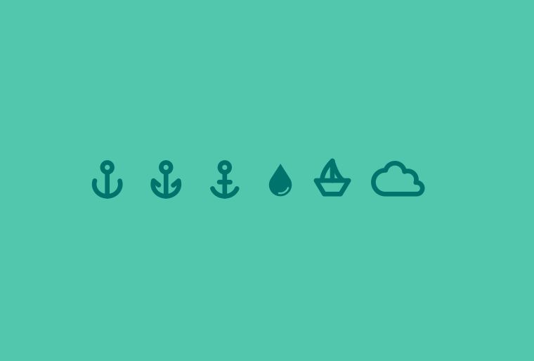 Ocean Icons 40% off