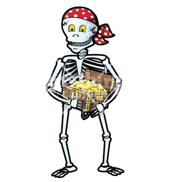 Skeleton-Gold