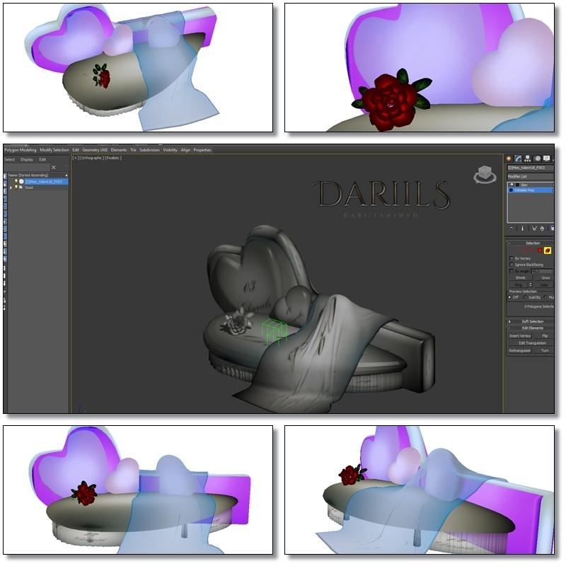 [D]Mesh_furniture Sofa_poses_valentine18F003