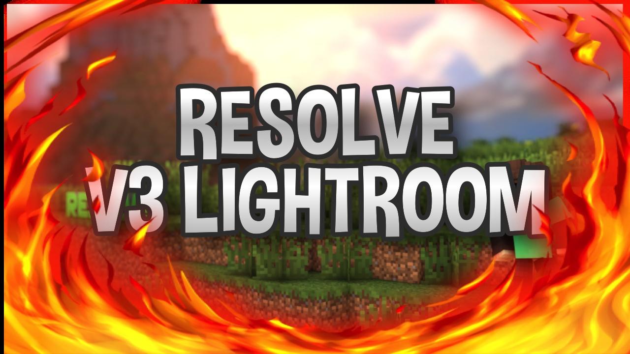 RESOLVE'S V3 LIGHTROOM!