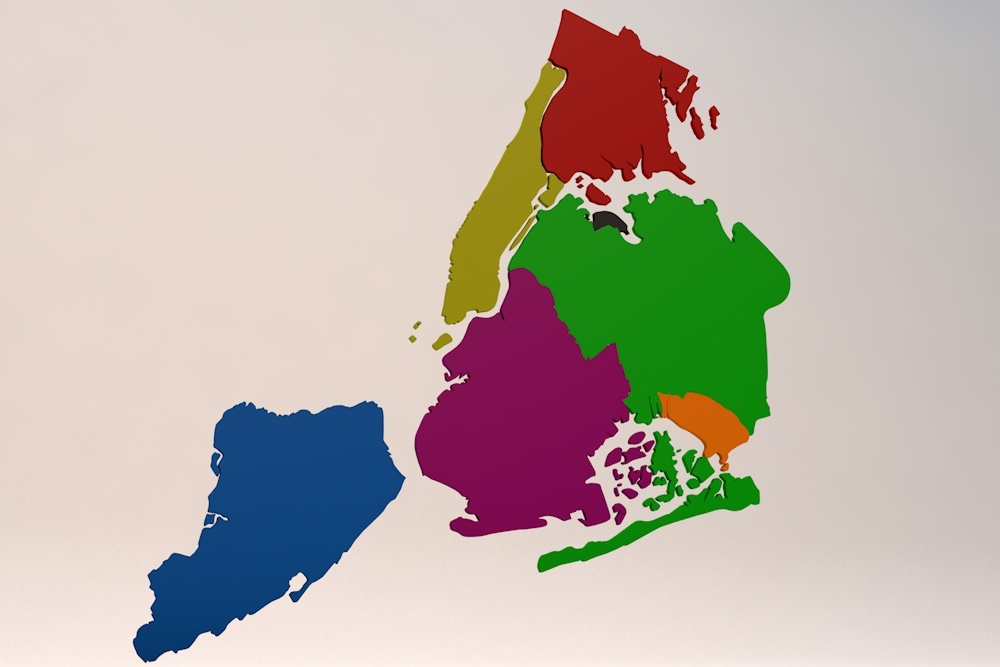 New York City 5 Boroughs