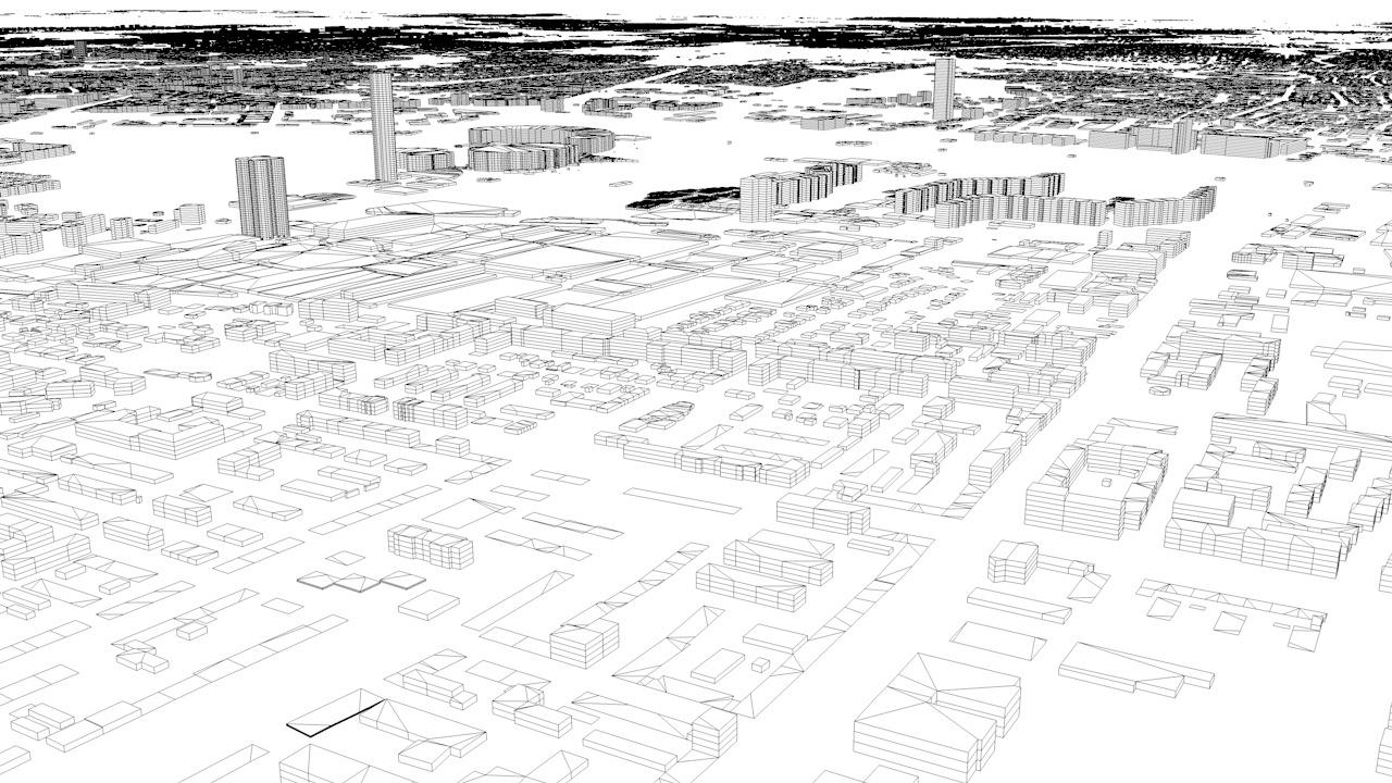 Munich Architectural 3D Model