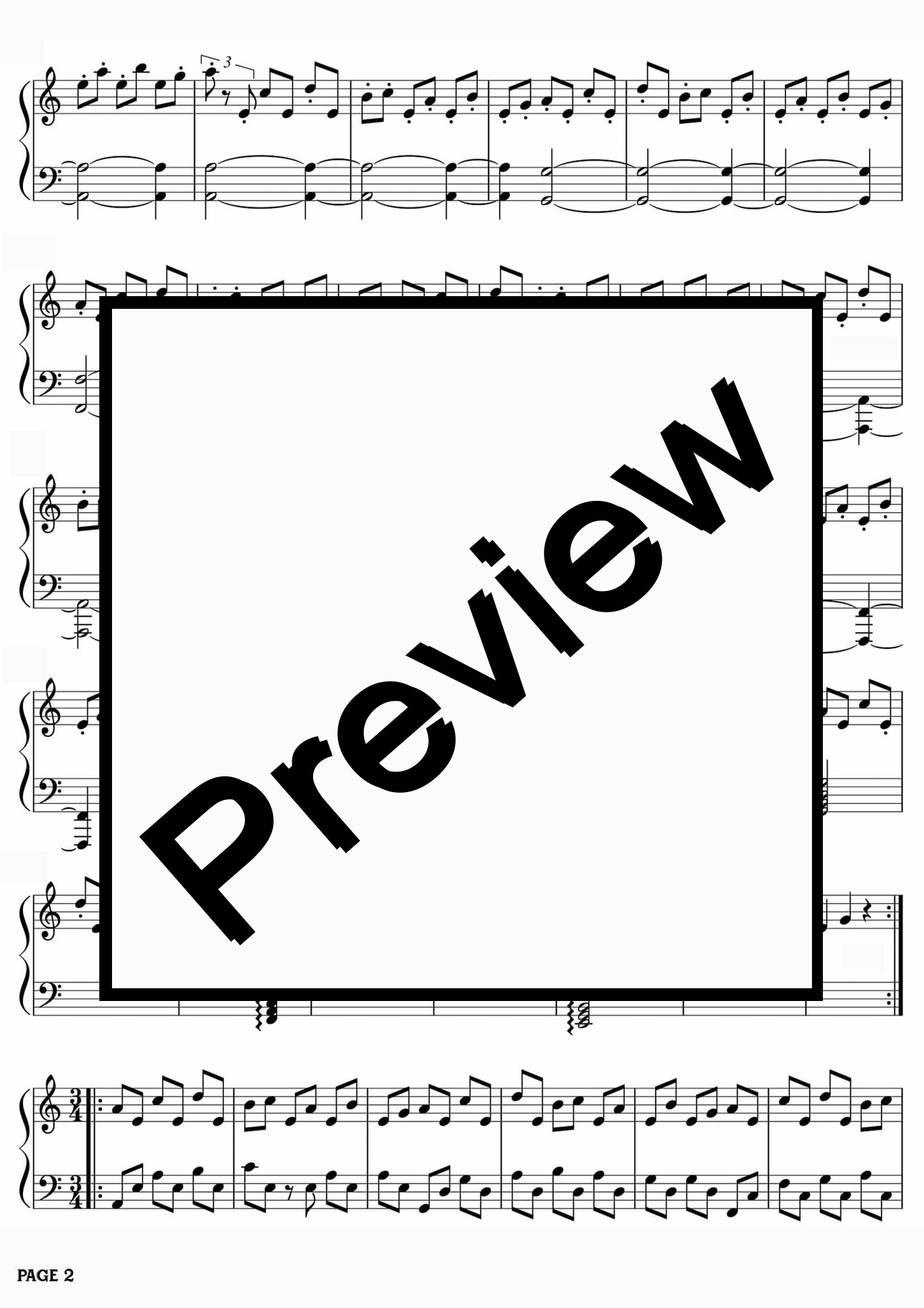 The Exorcist Theme - Pianoforte