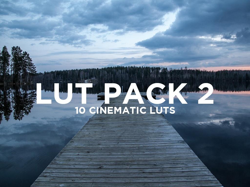 SevenCastStudios Lut Pack 2 - 10 Cinematic Lut's