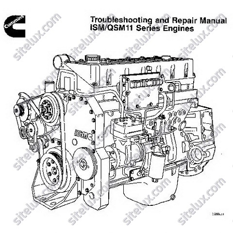 Cummins ISM/QSM11 Series Engines Troubleshooting and Repair Manual