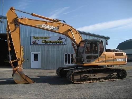 CASE CX210, CX230, CX240 CRAWLER EXCAVATORS SERVICE REPAIR MANUAL