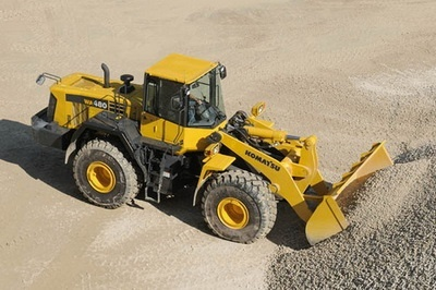 KOMATSU WA470-6, WA480-6 WHEEL LOADER SERVICE REPAIR MANUAL