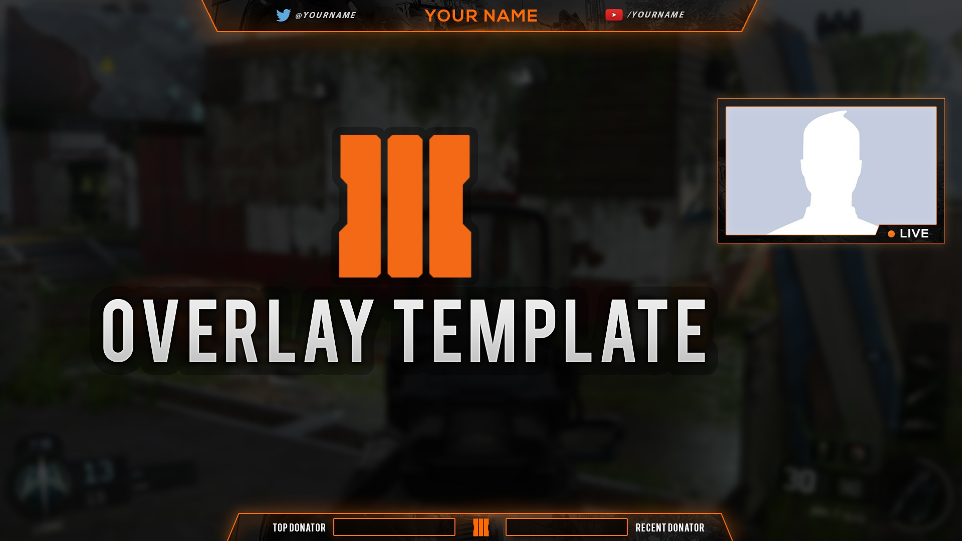 black ops 3 overlay template for free