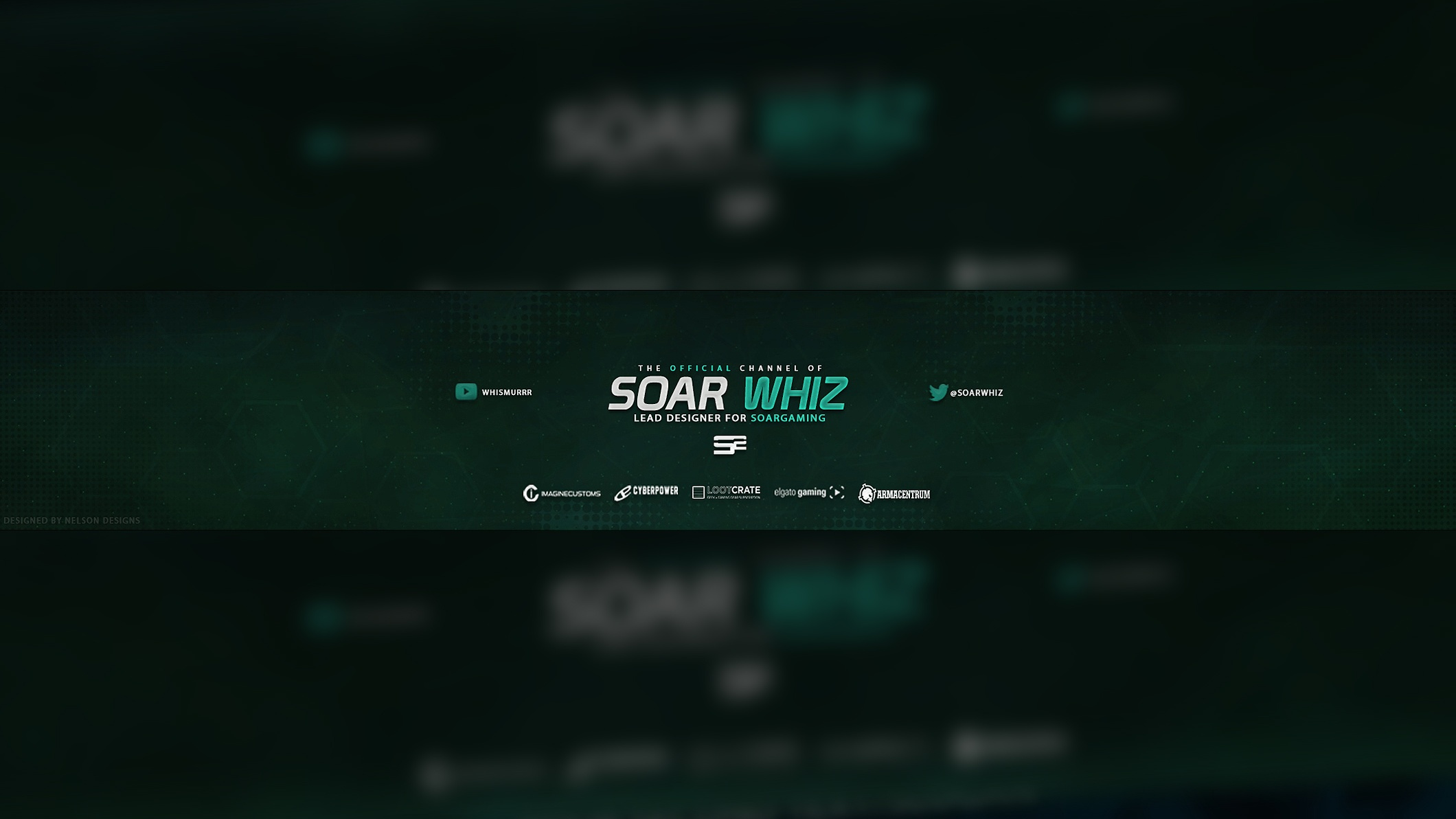 SoaR Whiz YouTube Banner PSD